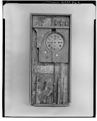 view Construction with Clock Face [sculpture] / (photographed by Walter Rosenblum) digital asset number 1