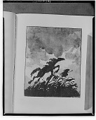 view Landscape with Abstract Horse [graphic arts] / (photographed by Walter Rosenblum) digital asset number 1