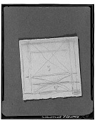 view Sketch for a Composition on a Cigarette Package [sketch] / (photographed by Walter Rosenblum) digital asset number 1