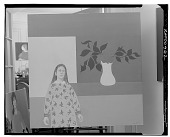 view Woman with Vase [painting] / (photographed by Walter Rosenblum) digital asset number 1
