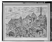 view Village [painting] / (photographed by Walter Rosenblum) digital asset number 1