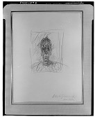 view Head of Diego [drawing] / (photographed by Walter Rosenblum) digital asset number 1
