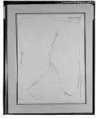 view Walking Man [painting] / (photographed by Walter Rosenblum) digital asset number 1