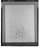 view Interior with Chair [art work] / (photographed by Walter Rosenblum) digital asset number 1