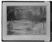 view Central Park [painting] / (photographed by Walter Rosenblum) digital asset number 1