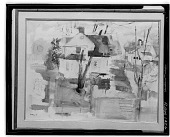 view Houses [painting] / (photographed by Walter Rosenblum) digital asset number 1