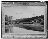 view Landscape with Lake [painting] / (photographed by Walter Rosenblum) digital asset number 1