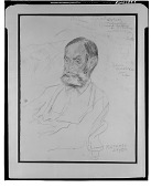 view Portrait of Edwin Dickinson [drawing] / (photographed by Walter Rosenblum) digital asset number 1