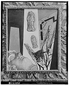 view The Span of Black Ladders, [painting] / (photographed by Walter Rosenblum) digital asset number 1