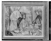 view (No title given: Figures) [painting] / (photographed by Walter Rosenblum) digital asset number 1