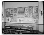 view (No title given: Interior) [photograph] / (photographed by Walter Rosenblum) digital asset number 1