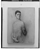 view Gesturing Boy [painting] / (photographed by Walter Rosenblum) digital asset number 1