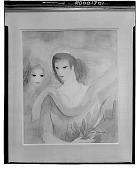 view Deux Tetes de Femmes [painting] / (photographed by Walter Rosenblum) digital asset number 1