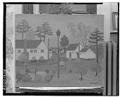 view Houses and Birdhouse [painting] / (photographed by Walter Rosenblum) digital asset number 1