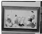 view Clowns [painting] / (photographed by Walter Rosenblum) digital asset number 1