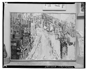 view Abstract Cityscape [painting] / (photographed by Walter Rosenblum) digital asset number 1