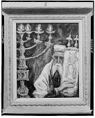view Rabbi [painting] / (photographed by Walter Rosenblum) digital asset number 1