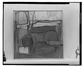 view Sleeping Dryad [painting] / (photographed by Walter Rosenblum) digital asset number 1