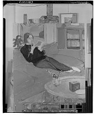 view No Title Given: Woman Reading, [painting] / (photographed by Walter Rosenblum) digital asset number 1