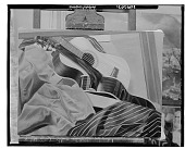 view No Title Given: Still Life with Guitars, [art work] / (photographed by Walter Rosenblum) digital asset number 1