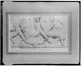 view The Battle of the Titans and the Centaurs, After and Antuque Relief [drawing] / (photographed by Walter Rosenblum) digital asset number 1