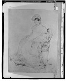 view Portrait of Madame Guillaume Guillon Lethiere [drawing] / (photographed by Walter Rosenblum) digital asset number 1