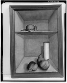 view Pomegranates and Cylinder [painter] / (photographed by Walter Rosenblum) digital asset number 1