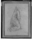 view Kneeling Woman [drawing] / (photographed by Walter Rosenblum) digital asset number 1