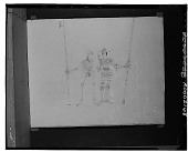 view No Title Given: Standing Figures [drawing] / (photographed by Walter Rosenblum) digital asset number 1