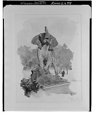 view Elephant Monument [painting] / (photographed by Walter Rosenblum) digital asset number 1