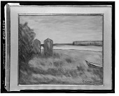 view No Title Given: Landscape by the Shore, [art work] / (photographed by Walter Rosenblum) digital asset number 1