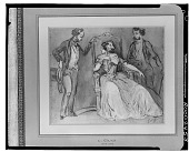 view A Lady and Two Gentlemen [drawing] / (photographed by Walter Rosenblum) digital asset number 1