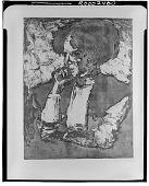 view Frau mit Dunklem Haar [graphic arts] / (photographed by Walter Rosenblum) digital asset number 1