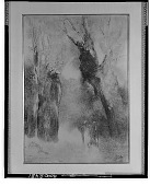 view No Title Given: Figures Walking in a Forest [art work] / (photographed by Walter Rosenblum) digital asset number 1