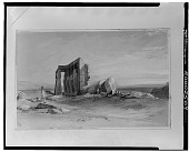 view Landscape with Ruins [painting] / (photographed by Walter Rosenblum) digital asset number 1