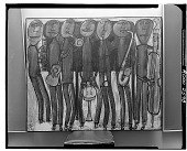 view Jazz Band (Black Chicago) [painting] / (photographed by Walter Rosenblum) digital asset number 1