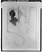view Woman [drawing] / (photographed by Walter Rosenblum) digital asset number 1