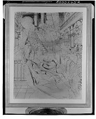 view Study with Seated Skeleton [art work] / (photographed by Walter Rosenblum) digital asset number 1