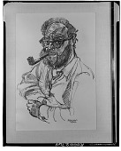 view Self Portrait, [drawing] / (photographed by Walter Rosenblum) digital asset number 1