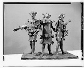 view Three Singers [sculpture] / (photographed by Walter Rosenblum) digital asset number 1