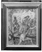 """view Egyptian Dancer at the """"Port Said"""" [painting] / (photographed by Walter Rosenblum) digital asset number 1"""