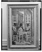 view Domino Players [painting] / (photographed by Walter Rosenblum) digital asset number 1