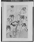 view Acrobats [painting] / (photographed by Walter Rosenblum) digital asset number 1