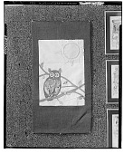 view Owl on a Branch [decorative arts] / (photographed by Walter Rosenblum) digital asset number 1