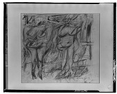 view Two Women [drawing] / (photographed by Walter Rosenblum) digital asset number 1