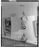view Clown on Unicycle [sculpture] / (photographed by Walter Rosenblum) digital asset number 1