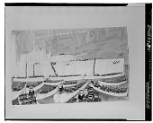 view East Riding of Yorkshire Yeomanry Disembarking from H.M.S. Cressy [drawing] / (photographed by Walter Rosenblum) digital asset number 1