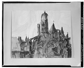 view Church [drawing] / (photographed by Walter Rosenblum) digital asset number 1