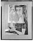 view Woman Sewing [painting] / (photographed by Walter Rosenblum) digital asset number 1