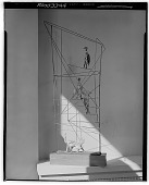 view Figures in a Structure [sculpture] / (photographed by Walter Rosenblum) digital asset number 1